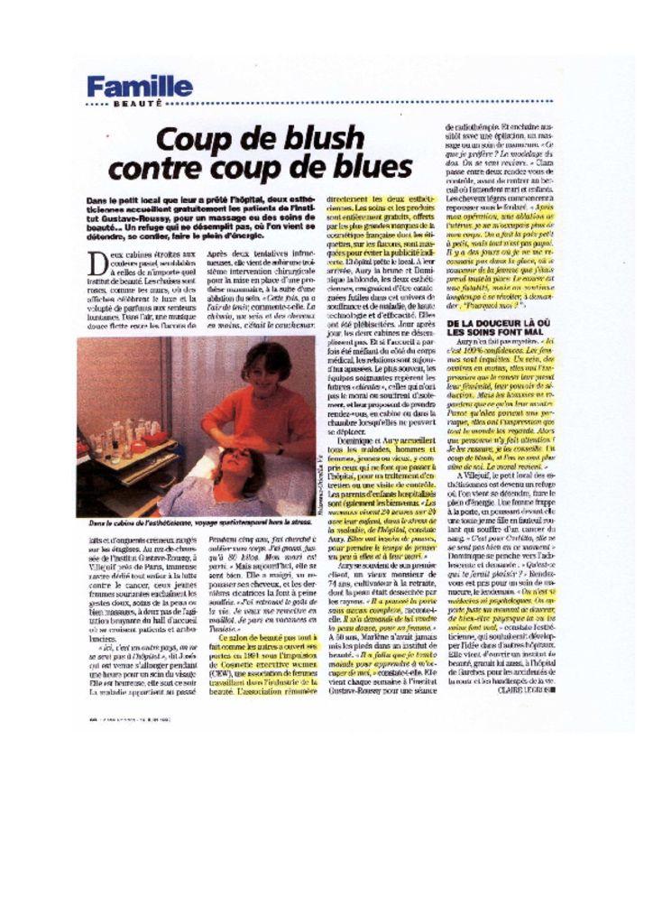 La Vie - Coup de blush contre coup de blues
