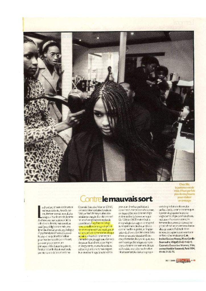L'Express magazine - Contre le mauvais sort