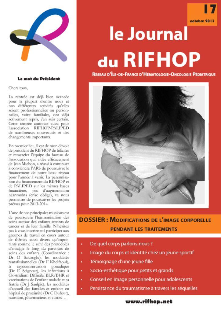Journal du Rifhop - Conseil en image personnelle pour les adolescents
