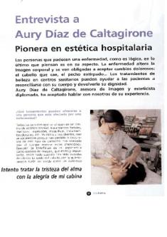 Vida Estética - Entrevista a Aury Caltagirone