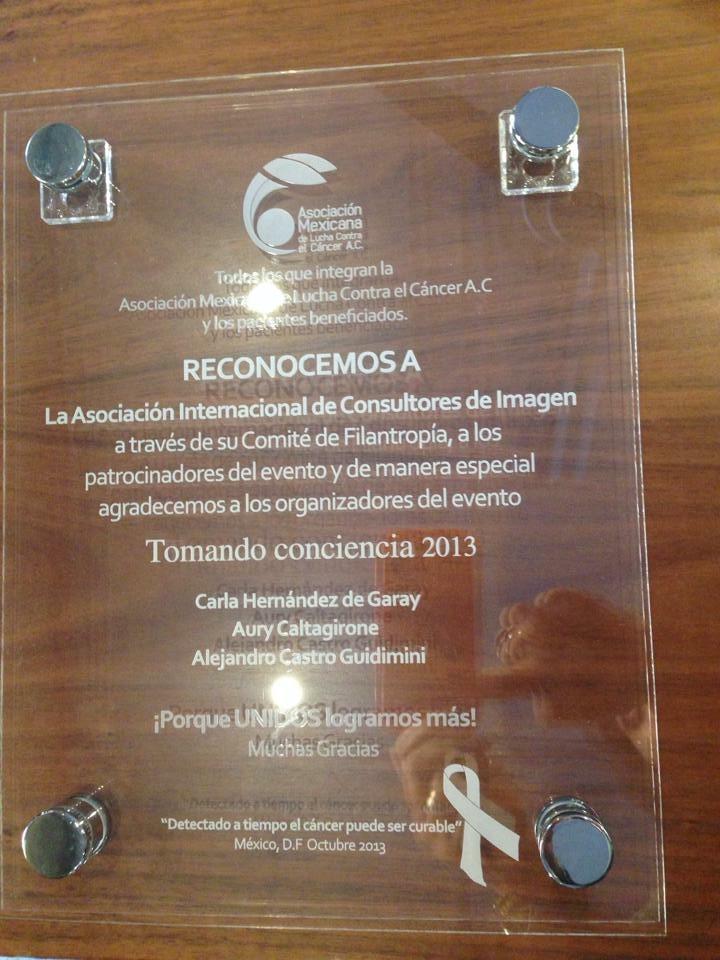 Aury Caltagirone - Asociación Mexicana de lucha contra el cáncer