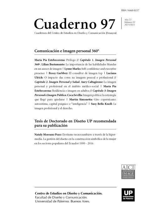 Centro de Estudios en Diseño y Comunicación - Cuaderno 97 - Comunicación e Imagen personal 360°